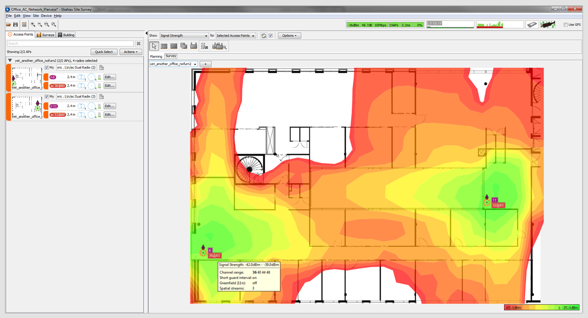 Wireless optimization service for Design of household surveys