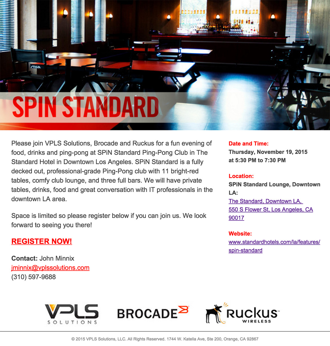 SPiN-event